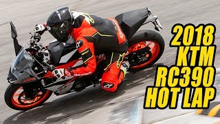 9. 2018 KTM RC390 Hot Lap of Laguna Seca