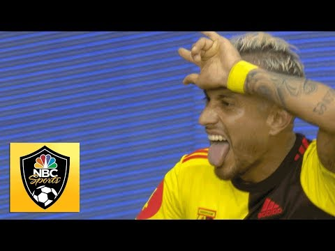 Roberto Pereyra wins penalty, scores Watford's equalizer v. Arsenal | Premier League | NBC Sports