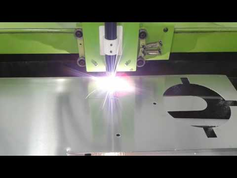 Mesa de corte de chapas por plasma CNC 3000 x 1500