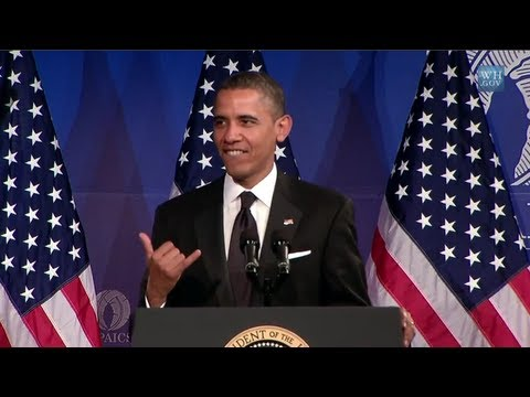 Barack Obama Sings 'SexyBack' By Justin Timberlake