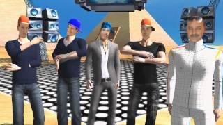Video NEW CONCORDE ROCK - EGYPT - Animovaná parodie - iClone 5.