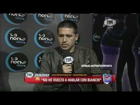 Vide Juan Roman Riquelme entrevista en FOX Sports Radio - Parte 3
