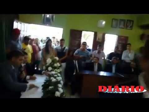 Cerimônia de posse dos vereadores e prefeito e vice 2008 em Lagoa de Dentro, PB