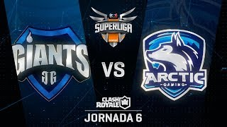 SUPERLIGA ORANGE - GIANTS VS ARCTIC  - Jornada 6 - #SuperligaOrangeCR6