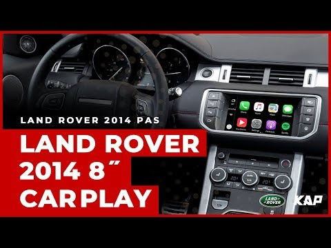 LAND ROVER 2014 year 8inch CARPLAY / Android AUTO
