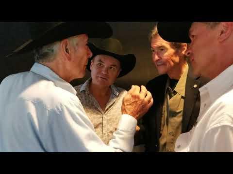 Robert Fuller, Me, Randy Mantooth, and Bruce Bump