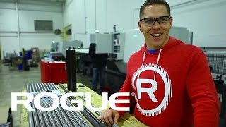 Matt Chan and his custom Rogue barbell
