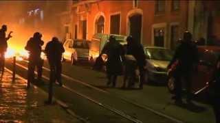 Greve Geral: Confrontos Na Assembleia Da República - Carga Policial