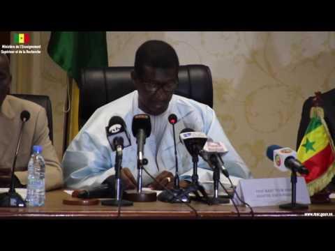 Journée de la Renaissance Scientifique de l'Afrique - Discours du Ministre le Pr Mary Teuw NIANE