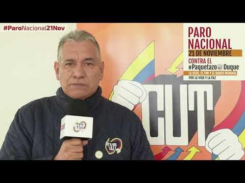 Timoteo Romero invita al #ParoNacional21N