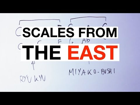 The Simple Theory Of Japanese Music Scales [Pentatonics, Guitar]