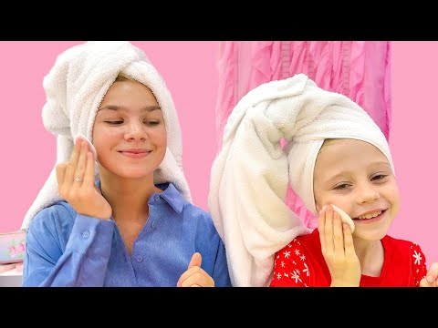 Nastya learns from Meggie the rules of the Princesses
