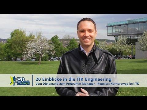 Vom Diplomand zum Programm Manager – Regniers Karriereweg bei ITK