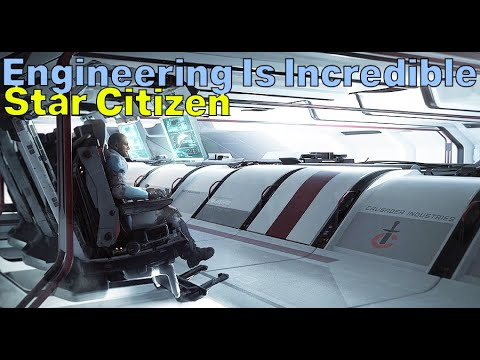 Engineering & Multicrew Gameplay Sounds Deep | Chris Roberts On Star Citizen