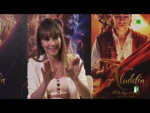Aladdin - Aladdín-Entrevista con Aitana?>