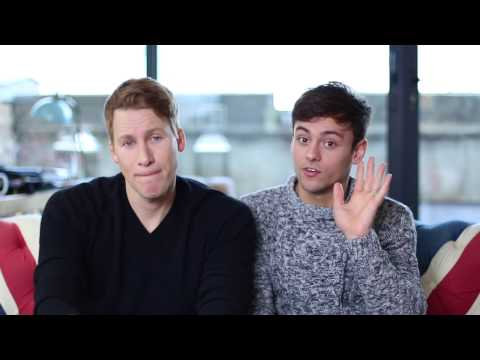 Dustin Lance Black & Tom Daley Send A Message From London!