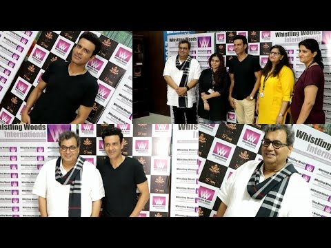 Manoj Bajpayee Interact With Whistling Woods International Institute