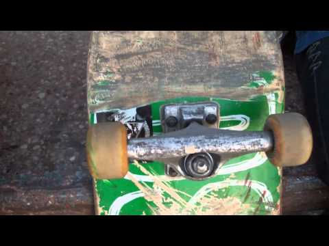 Skateboard tip: ever lost an axle nut that ends your skate day early?