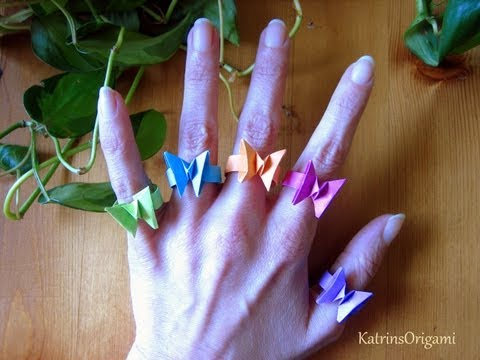 Origami Ring Step by Step