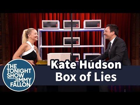 Hudson - Jimmy and Kate take turns trying to stump each other about what item is hidden inside their mystery boxes. Part 2 of 2. Subscribe NOW to The Tonight Show Starring Jimmy Fallon: http://bit.ly/1nw...