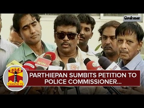 Actor-Parthiepan-Submits-Petition-to-Police-Commissioner-over-Increasing-Child-Abductions