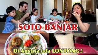 Video MAKAN SOTO BANJAR || LONTONG PRODUK AUSTRIA.! 👍🏻 MP3, 3GP, MP4, WEBM, AVI, FLV April 2019