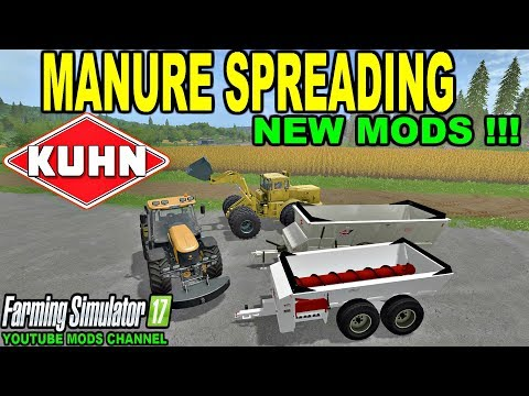 Knight SLC141 manure spreader v1.0