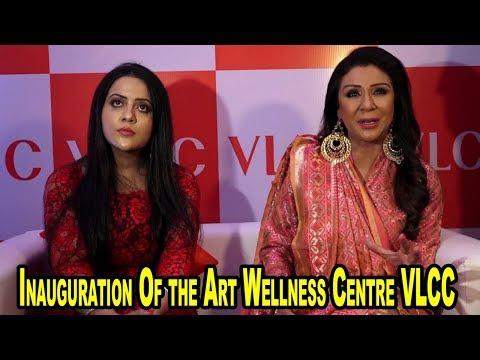 Amruta Fadnavis Inaugurates the Art Wellness Centre VLCC