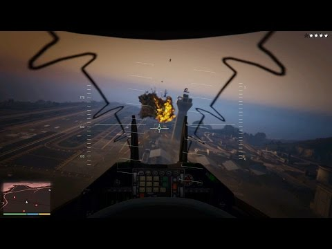 Grand Theft Auto V First Person Experience