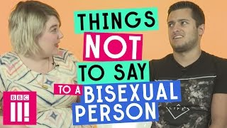 Video Things Not To Say To A Bisexual Person MP3, 3GP, MP4, WEBM, AVI, FLV Mei 2019