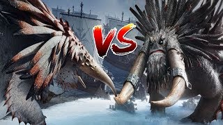 Video How to Train Your Dragon 2 -  Alpha Bewilderbeast Vs Drago's Bewilderbeast with healthbars MP3, 3GP, MP4, WEBM, AVI, FLV September 2018