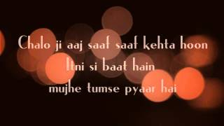 Video Itni Si Baat Hai Lyrics || Azhar || Arijit Singh, Antara Mitra download in MP3, 3GP, MP4, WEBM, AVI, FLV January 2017