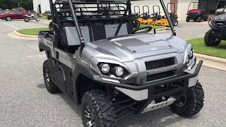 5. 2018 Kawasaki Mule Pro-FXR Atomic Silver