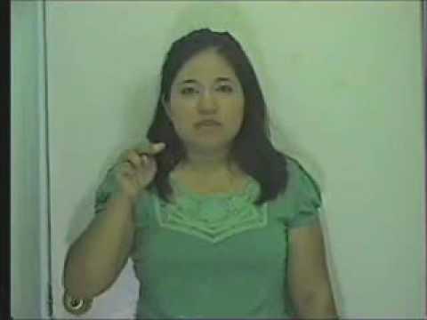abecedario para niños sordos