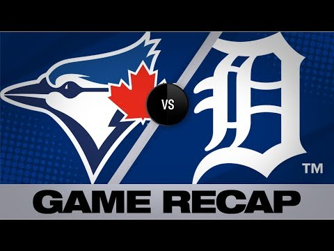 Video: Guerrero, Stroman lead Blue Jays past Tigers | Blue Jays-Tigers Game Highlights 7/19/19