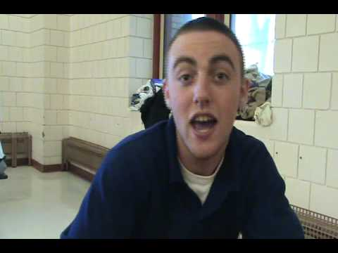 RAW Video Mac Miller freestyle