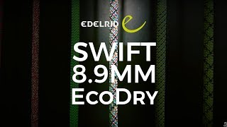 Edelrid Swift Eco Dry 8.9mm climbing rope by WeighMyRack
