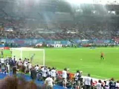 Penalties España - Italia (Marcos Senna)