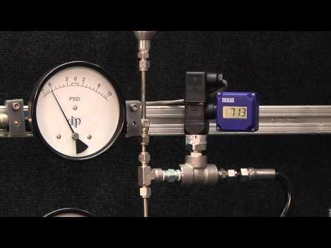 ZF pressure regulator for nano flow rates