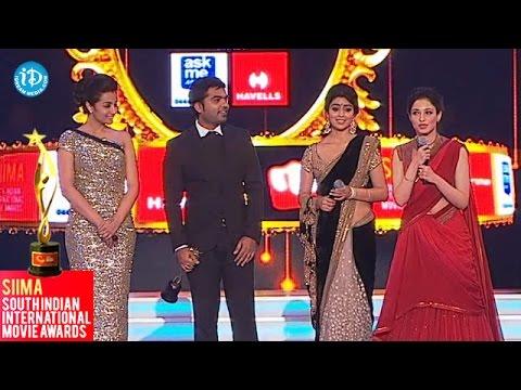 Tammanna, Trisha, Shriya about Simbu || SIIMA 2014 Awards