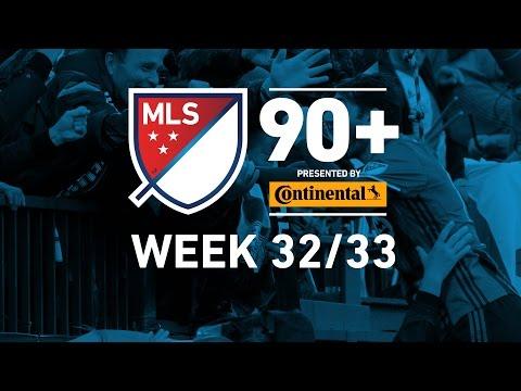 MLS Highlights:  Week 32