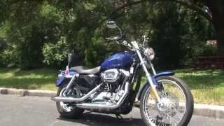 7. Used 2007 Harley Davidson Sportster 1200 Custom Motorcycles for sale - Crystal River, FL