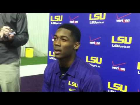 Jalen Mills Interview 11/12/2013 video.
