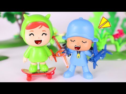 Pocoyo Toys  COMPILATION with POCOYO and NINA
