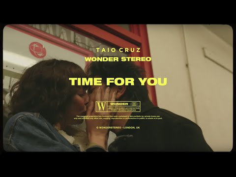 Time for You <br>Feat. Wonder Stereo<br><font color='#ED1C24'>TAIO CRUZ</font>