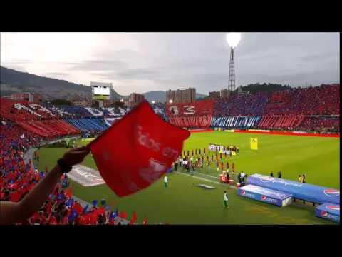 HIMNO DE ANTIOQUIA POR LA HINCHADA MAS LINDA DE COLOMBIA - Rexixtenxia Norte - Independiente Medellín