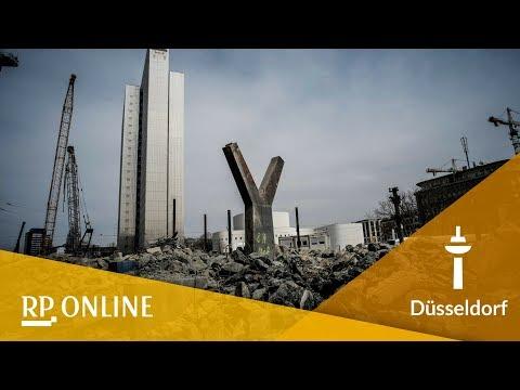 Düsseldorf: Der Abriss des Tausendfüßlers im Zeitra ...