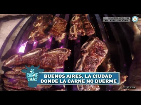 In this video you will learn about the most popular meat cuts in Argentina, the French origin of BBQs, Ageing (or maturation) of meat and the 24 hs ride of BBQ in Buenos Aires nightlife.(language: spanish)