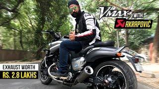 7. Yamaha Vmax with Akrapovic Exhaust
