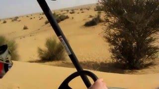 7. 4X4 Yamaha Rhino buggy ride in the desert near Dubai, UAE - January 2012